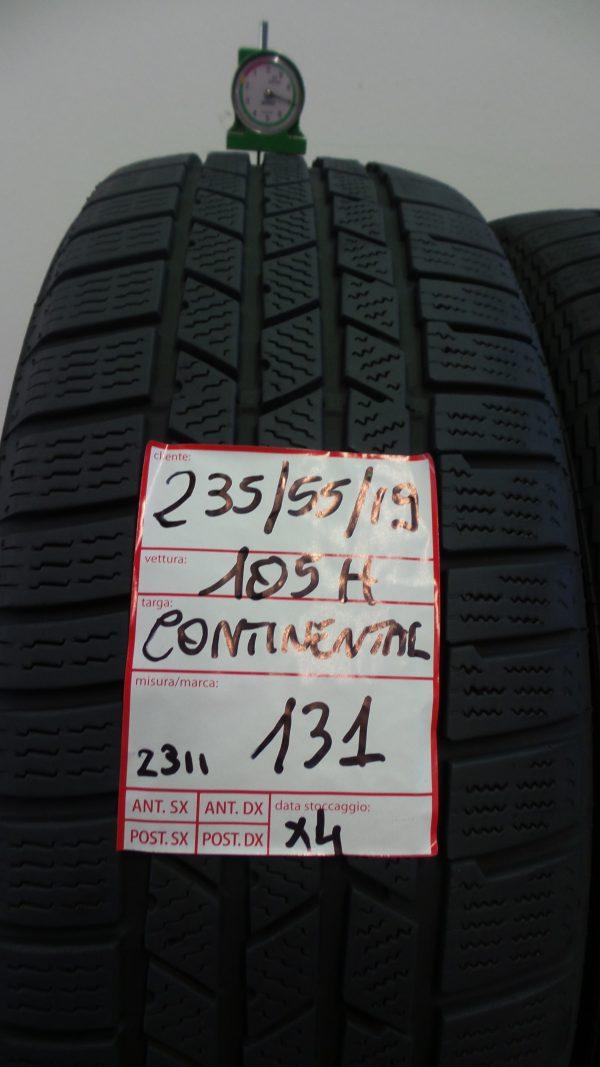 CONTINENTAL 235/55 R19 105H - CROSSWINTERCONTACT 4 PNEUMATICI