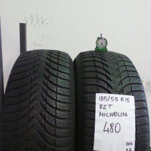 MICHELIN 185/55 R15 82T - MOD. ALPIN A4 - 2 PNEUMATICI