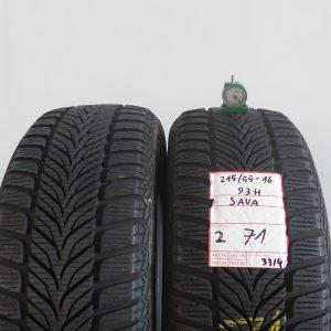 SAVA 215/55 R16 93H MOD. SAVA ESKIMO HP - 2 PNEUMATICI