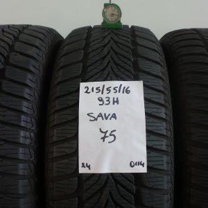SAVA 215/55 R16 93H MOD. SAVA ESKIMO HP - 4 PNEUMATICI