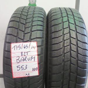 BARUM 175/65 R14 82T - MOD. POLARIS3 - 2 PNEUMATICI
