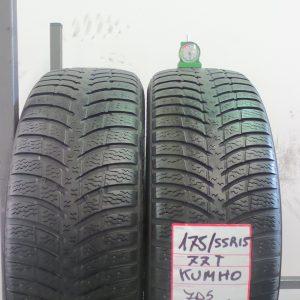 KHUMO 175/55 R15 77T - MOD. I'ZEN KW23 - 2 PNEUMATICI