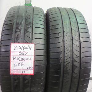 MICHELIN 215/60 R16 95V - MOD. PRIMACY3 - 2 PNEUMATICI